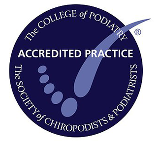 College of Podiatry Accredited Clinic