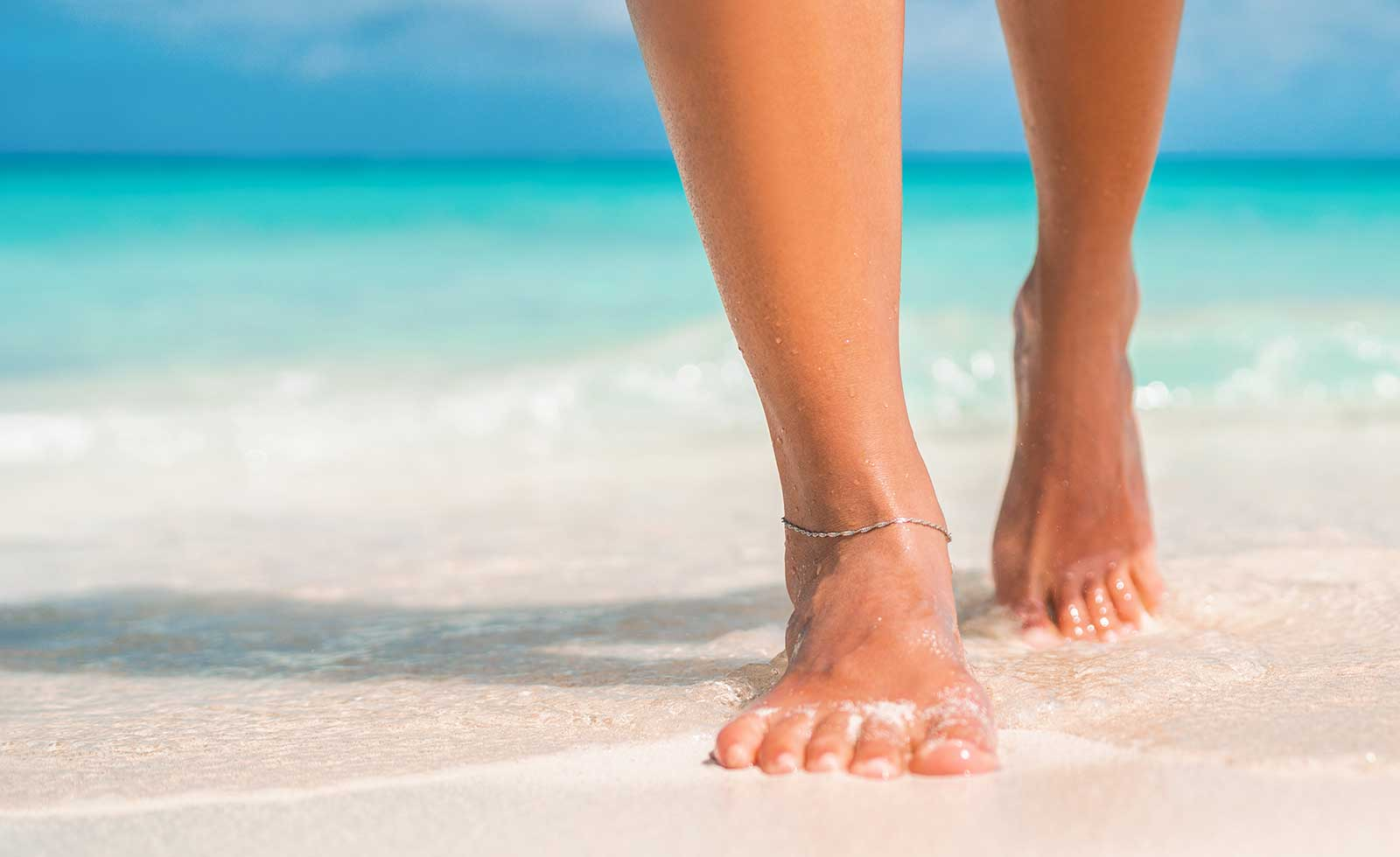 Feet condition and foot care treatments