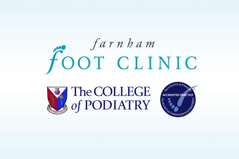 Farnham Foot Clinic, College of Podiatry Accredited